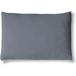 The Linen Works Parisian Blue Linen Mini Cushion Cover Parblue/pc/hw/ob