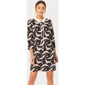 Girls On Film Bird Print Dress  Size: 10 Uk, Colour: Print S7gf0112mu10