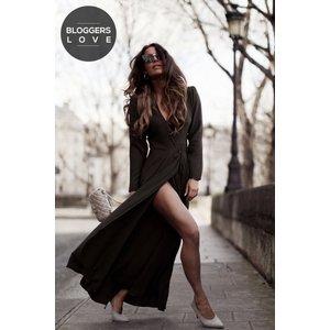 Girls On Film Khaki Tie Waist Maxi Dress Size: 12 Uk, Colour: Khaki Aw16 Gfad006 8012