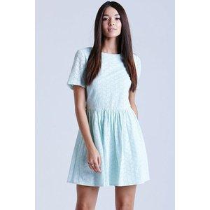 Girls On Film Mint Lace Tunic Dress Size: 16 Uk, Colour: Mint Ss15 Gfab021 0016