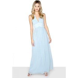Little Mistress Blue Lace Maxi Size: 6 Uk, Colour: Blue A7lm01166bl6