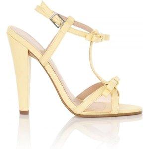 Paper Dolls Ellette Lemon Mesh Bow Sandals Size: Footwear 7 Uk, Colour Ss16 Pdsg010 137