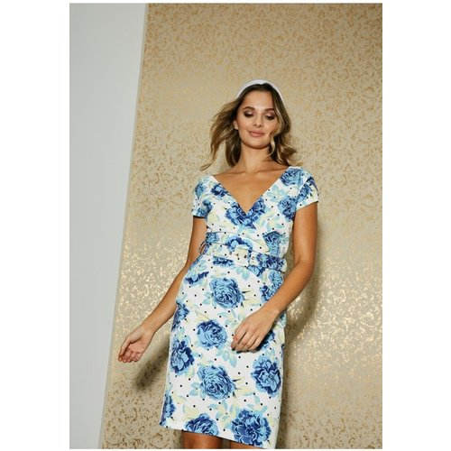 Floral Print Women's Belted Dresses Ideas