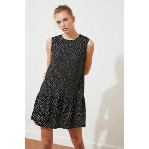 Trendyol Black Polka Smock Dress Size: M, Colour: Black Ss20el2334m
