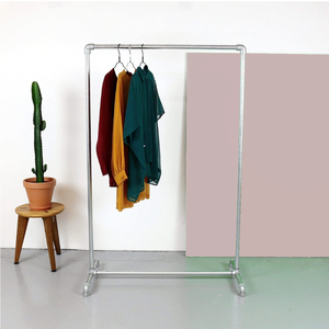 Ziito - Industrial Clothes Rack 547316105242