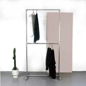 Ziito D - Clothes Rack With Two Pipes 546441560090