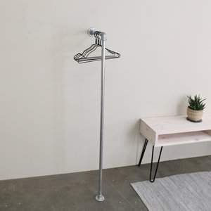 Ziito Rhl - Wall Mounted L-shaped Clothes Rail 32065146781765