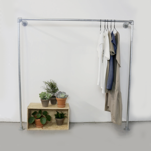 Ziito W1l - Wall-mounted Clothes Rack 39272701362245
