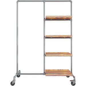 Ziito Wa - Clothes Rail With Shelves 31784216002629