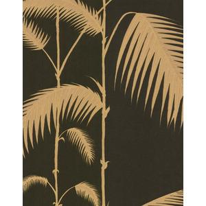 Palm Leaves By Cole & Son - Beige / Black - Wallpaper - 66/2014 Wallpaper Uk
