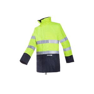 Sioen Reaven Fr Ast High Vis Yellow Waterproof Jacket