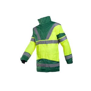 Sioen Skollfield 209 High Vis Yellow And Green Jacket