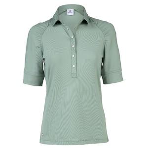Surprizeshop Ariana 1/2 Sleeve Polo Shirt-mist-1/2 Sleeve-medium