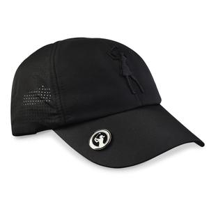 Surprizeshop Lady Golfer Magnetic Soft Fabric Golf Cap -black