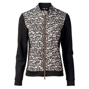 Surprizeshop Leonie Jacket- Leopard-black-jacket-extra Small