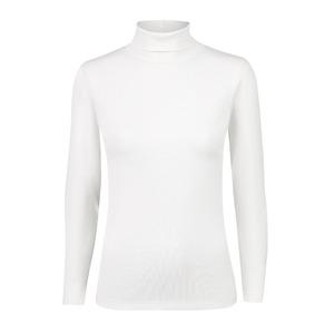 Surprizeshop Maggie Long Sleeve Roll Neck - Ivory White-ivory White-base Layer-large