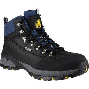 Amblers Safety Mens Fs161 Black Waterproof Boot 558024 Mens Footwear