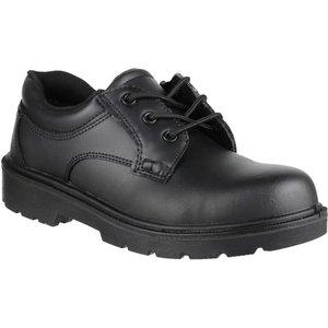 Amblers Safety Unisex Gibson Metal Free Black Shoe 552012 Mens Footwear