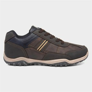 Beckett Mens Brown Casual Lace Up Shoe 52276 Mens Footwear