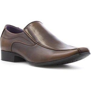 Beckett Mens Brown Slip On Shoe 53097 Mens Footwear
