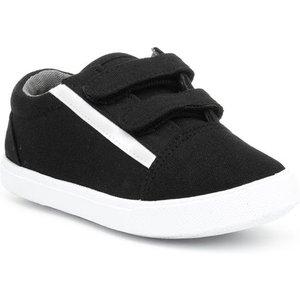 Chatterbox Fly 18 Kids Black Flat Sole Shoe 20736 Childrens Footwear
