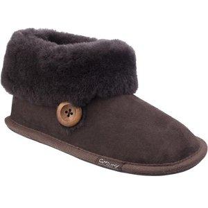 Cotswold Women's Wotton Chocolate Bootie 699149 Womens Footwear