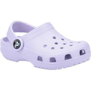 Crocs Classic Kids Slip On Clog In Lavender 292023 Childrens Footwear