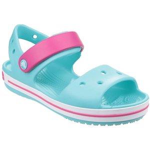 Crocs Crocband Girls Sandal In Turquoise 292013 Childrens Footwear