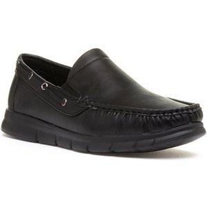 Cushion Walk Declan Mens Black Slip On Shoe 52400 Mens Footwear