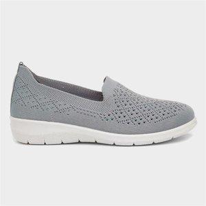 Cushion Walk Leanne Womens Blue Casual Shoe 120042 Womens Footwear