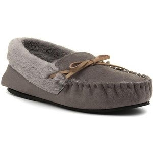 Dr Keller Vanessa Womens Grey Moccasin Slipper 699103 Womens Footwear