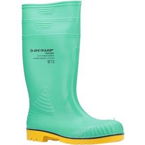 Dunlop Acifort Hazguard Adults Wellington In Green 799168 Mens Footwear