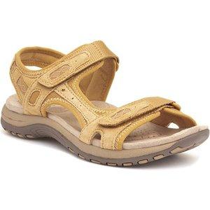 Earth Spirit Frisco Womens Yellow Leather Sandal 19612 Womens Footwear