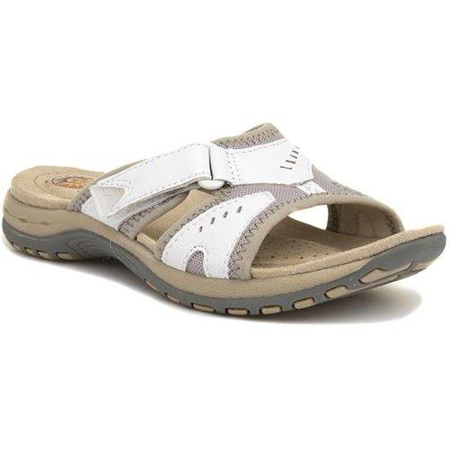 Earth Spirit Wickford Womens White Mule Sandal 19331 Womens Footwear