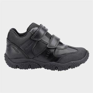 Geox J Baltic Abx Boys Shoe In Black Sizes 32-38 203019 Childrens Footwear
