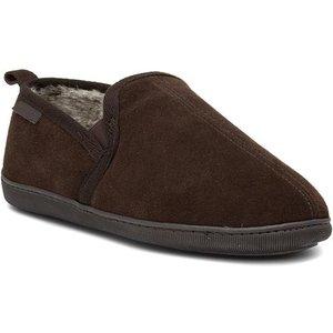 Hush Puppies Arnold Mens Brown Full Slipper 699041 Mens Footwear