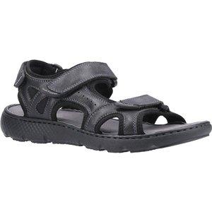 Hush Puppies Carter Strap Sandal In Black 594006 Mens Footwear