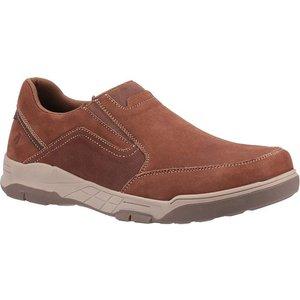 Hush Puppies Fletcher Mens Slip On Shoe In Tan 520209 Mens Footwear