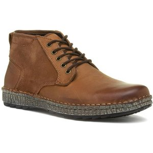 Hush Puppies Gus Tan Lace Up Boot 58601 Mens Footwear