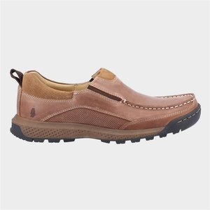 Hush Puppies Mens Duncan Leather Shoes In Brown 520254 Mens Footwear