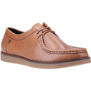 Hush Puppies Will Wallabee Lace Up Shoe In Tan 520036 Mens Footwear