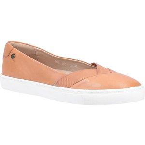 Hush Puppies Womens Tiffany Slip On Shoe In Tan 120151 Womens Footwear