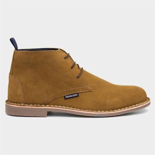 Lambretta Carnaby Tan Suede Lace Up Desert Boot 589019 Mens Footwear
