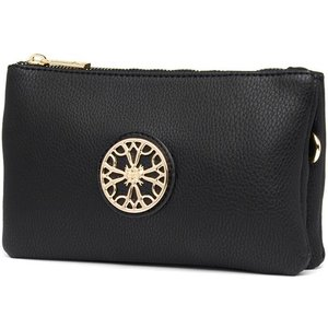 Lilley Black Zip Purse 99661 Clothing Accessories
