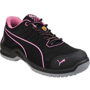 Puma Safety Womens Fuse Tech Black Trainer 809016 Womens Footwear