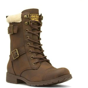 Rocket Dog Billie Womens Brown Lace Up Ankle Boot 18862 Womens Footwear