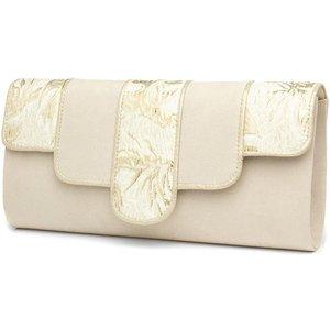 Ruby Shoo Canberra Cream Clutch Bag 90949 Womens Accessories