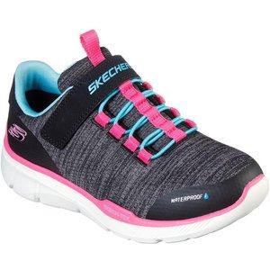 Skechers Girls Equalizer 3.0 Mbrace In Black 802023 Childrens Footwear