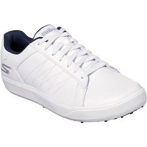 Skechers Mens Go Golf Drive 4 Sports Shoe In White 520225 Mens Footwear