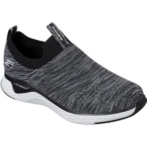 Skechers Solar Fuse Slip On In Black 830006 Mens Footwear